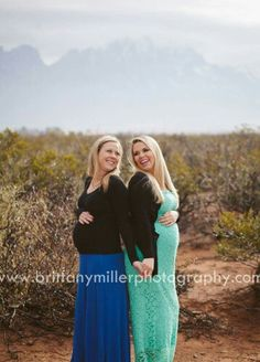 Sister pregnancy photography.  #brittanymillerphotography