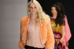 Andrej Pejic, androgynous model, can walk fashion week in both men's and women's shows