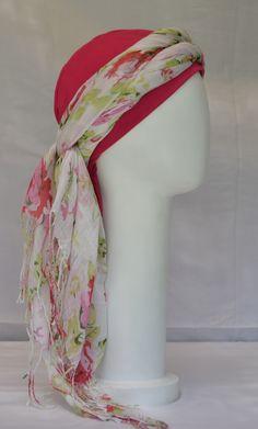 Turbante para quimioterapia/chemo scarf/ 100% algodon/ cómodos/ alegres Scarf, Fashion, Turbans, Moda, Fashion Styles, Fashion Illustrations, Fashion Models