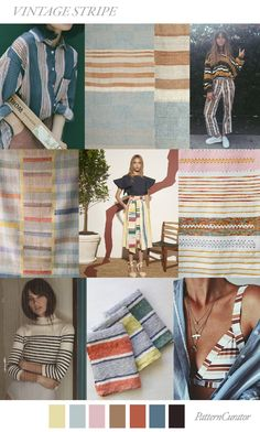 VINTAGE STRIPE by PatternCurator