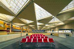 Estación de Delicias de Zaragoza diseñado por Carlos Ferrater