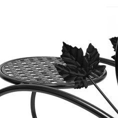 saksı demir desteği / bonsai bahçe dekorasyon Siyah: Amazon.fr: Mutfak