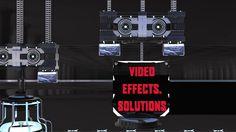 Mechanical Logo on Vimeo 3d, Logos, Logo