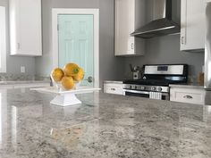 Best White Cabinets And Venetian Ice Countertops Kitchen 400 x 300