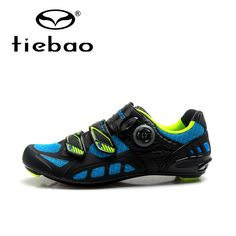Tiebao Men Pro Road Cycling Shoes Carbon Fiber Bike Shoes Ultralight Non-slip Riding Bicycle Shoes Self Lock Zapatos de ciclismo