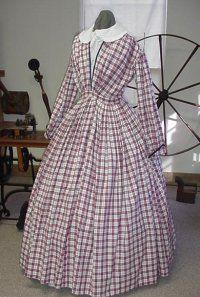 Civil War Sutler Blockade Runner's Ladies Fashion Page 5, TRAVELING DRESS, TEA BODICE, SMITH DRESS 1860's Civil War Era.3-17-09