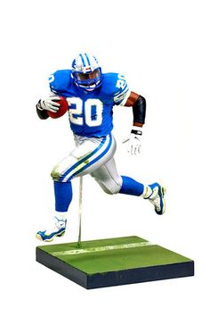 430daf90f79 Barry Sanders Series 28 Action Figure. Skyhook Toys · NFL Action Figures