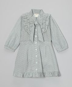 Take a look at this Ardleigh Bow Organic Dress - Infant, Toddler & Girls by Plum Bunny on #zulily today!