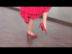 """Curso """"Aprende a Bailar Sevillanas con Pilar Astola"""": La Primera (paso a paso) - YouTube"""