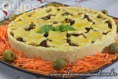 #BomDia! Esta Torta de Carne Sem Glúten é amor à primeira vista e mordida.  É uma opção deliciosa de #almoço!    #Receita aqui: http://www.gulosoesaudavel.com.br/2014/03/11/torta-carne-sem-gluten/