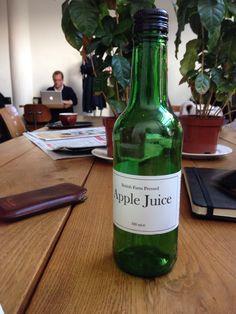 British Farm Pressed. Apple Juice.
