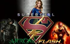 Supergirl Flash Green Arrow wallpaper by ArkhamNatic on DeviantArt