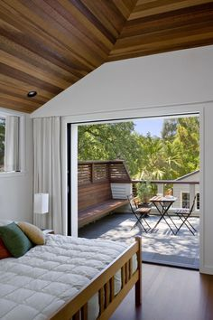 Addition/Remodel of Historic House in Palo Alto - contemporary - bedroom - san francisco - Cathy Schwabe Architecture