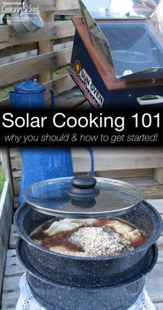 Solar Cooking Benefits and Basics - If you're wondering how to cook with the sun let me tell you about Solar Cooking Benefits and Basics Emergency Preparedness Food, Prepper Food, Emergency Preparation, Food Preparation, Survival Prepping, Solar Oven Diy, Diy Solar, Cooking 101, Oven Cooking