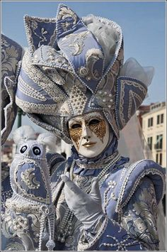 powder blue masquerade
