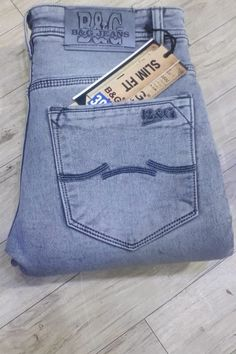 Light Blue Arihant Traders Denim Mens Wear Jeans Catalog No : 9824 True Jeans, College Wear, Diesel Jeans, Denim Pants, Jeans Style, Menswear, Mens Fashion, Stylish, Light Blue