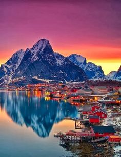 "#LofotenIslands #Norway .................. #GlobeTripper® | https://www.globe-tripper.com | ""Home-made Hospitality"""