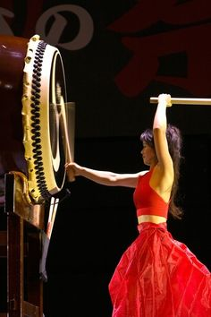 I love how this photo represents the juxtaposition of graceful beauty and strength of taiko drumming.