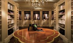 TRADITION INTERIORS OF NOTTINGHAM: Clive Christian Luxury Dressing Room Furniture