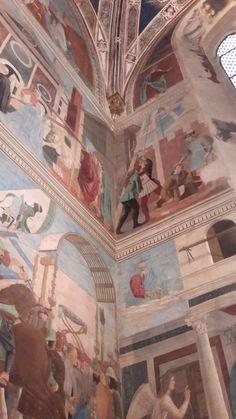 1453-1464 Piero della Francesca - Storie della Vera Croce - Basilica di San Francesco (Arezzo)