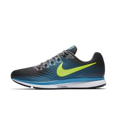 Nike Air Zoom Pegasus 34 Men's Running Shoe Size 10.5 (Black)