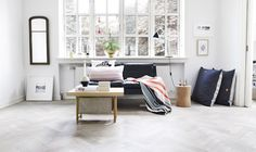 simple. love those floor pillows | my 2nd hand life