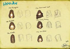 Hoods by Reganov.deviantart.com on @deviantART