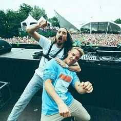 Diplo and Steve Aoki #edm #funny