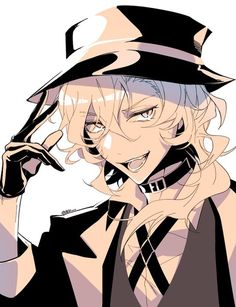 Read Chuuya from the story Bungou Stray Dogs by Koikoi-san (Km) with reads. ~imagínate decirle a Chuuya que va a ser padre~ Realmente. Me Me Me Anime, Anime Guys, Manga Anime, Anime Art, Dazai Bungou Stray Dogs, Stray Dogs Anime, Fanart, Chibi, The Ancient Magus Bride