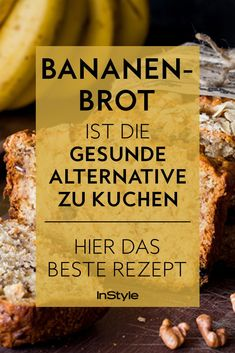 We have the best recipe for healthy banana bread without sugar. The best? It's super easy, tasty and healthy! bread We have the best recipe for healthy banana bread without sugar. The best? It's super easy, tasty and healthy! Healthy Banana Bread, Banana Bread Recipes, 100 Calories, Bon Dessert, Dessert Recipes, Banana Bread Without Sugar, Fish Recipes, Paleo Recipes, Health Desserts