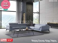 Prizma Corner Modern Köşe Takımı ile modern tasarımın konforu artık evinizde!  :+1::smile: #Modern #Furniture #Mobilya #Köşe #L #Koltuk #Takımı #Sönmez #Home #Prizma #Corner Ayrıntılı Bilgi İçin : https://goo.gl/uVU9Wp