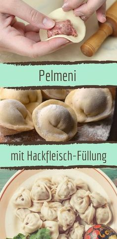 Pelmeni with a spicy minced meat filling - Recipes - Hamburger Meat Hamburger Meat Recipes, Sausage Recipes, Carne Picada, Vegetable Drinks, Russian Recipes, Healthy Eating Tips, Healthy Nutrition, Cauliflower Recipes, Unique Recipes