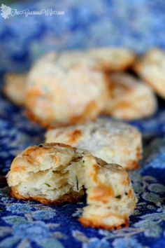 Brie and Chive Biscuits – The Gracious Wife
