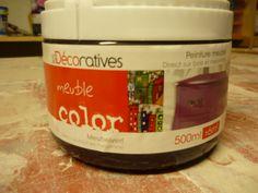 Relooking avec la peinture meuble color les d coratives - Peinture charme les decoratives ...