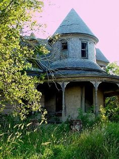 Beautiful abandoned house