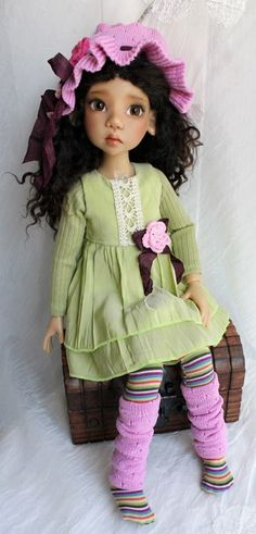 Gorgeous OOAK Handmade Outfit for MSD BJD by MeadowDoll