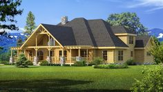 Longleaf Lodge Main Photo - Southland Log Homes