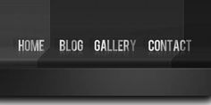 20 Very Well #Design #PSD #Navigation Menu Bar For Download