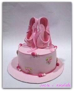 Cake Decorating Bailarina Shoes