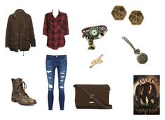"""""""Sam Winchester Inspired Look"""" by b-bryant1816 ❤ liked on Polyvore featuring Sanctuary, Vince, J Brand, Steve Madden, Vera Bradley, Panacea, Bling Jewelry and supernatural"""