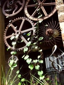 Rusty Garden ... makes for a great divider