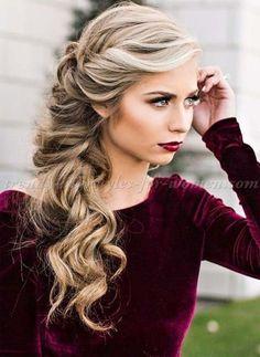 Gorgeous Half Up Half Down Hairstyles Ideas 2018