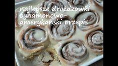 Najlepsze drożdżówki cynamonowe-amerykański przepis Cereal, Pancakes, Breakfast, Youtube, Food Ideas, Blog, Morning Coffee, Pancake, Blogging