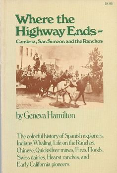 Where the Highway Ends by Geneva Hamilton 1977, Paperback Edition