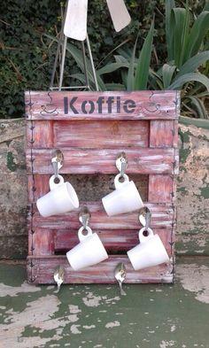 Koffierak My Plek Crafts