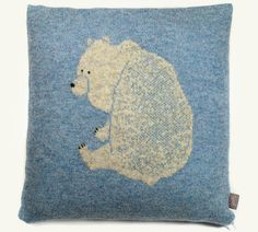 pillow by My Friend Yarn.
