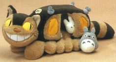 Stuffed Totoro cat bus home Mサイズ 33 cm