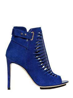 91bcad0f3ba710 StyleBlazer Shoe Spotlight  Burka Uyan Suede Cut-Out Boots Drool worthy.  thestylishmd.com