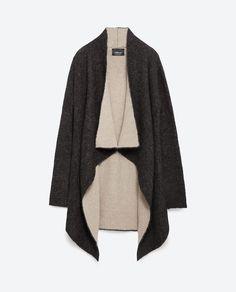 V-NECK JACKET-Cardigans-Knitwear-WOMAN | ZARA United States