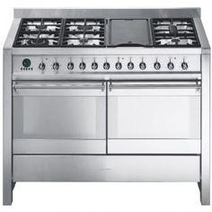 smeg a4 8   a4 120cm  u0027opera u0027 dual fuel range cooker   appliance cuisine a1 7   range cooker products and cuisine  rh   pinterest com
